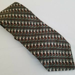 CARLO BATTINI 100% silk tie handmade